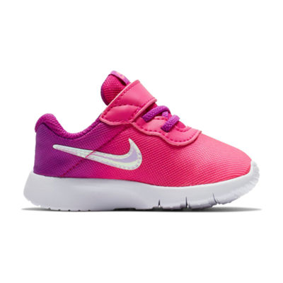 Nike Tanjun Print Girls Pull-on Running Shoes - Toddlers