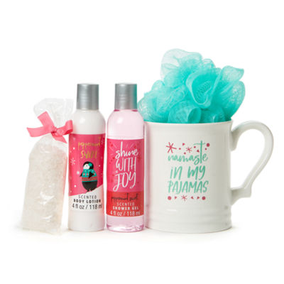Mixit Mug And 5-pc. Bath Accessory Set
