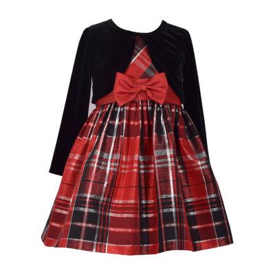 Bonnie Jean 2pc Jacket Dress - Toddler Girls