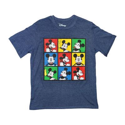 Disney Short Sleeve Crew Neck Mickey Mouse T-Shirt Boys