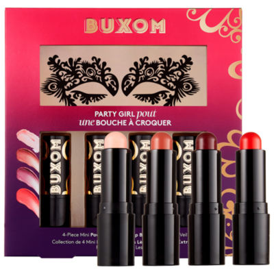 Buxom Party Girl Pout Mini Lip Balm Kit