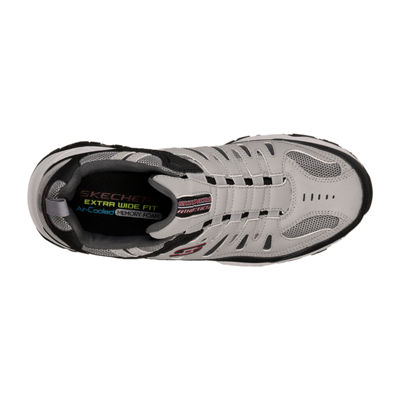 Skechers After Burn M. Fit Mens Walking Shoes Slip-on Extra Wide Width