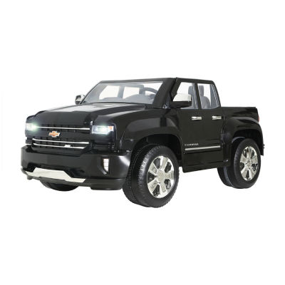 Rollplay Chevy Silverado 12 Volt Battery Ride-On Vehicle - Black