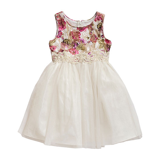 Young Land Girls Sleeveless Party Dress - Toddler