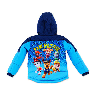 Nickelodeon Outerwear - Boys Paw Patrol Heavyweight Puffer Jacket-Big Kid