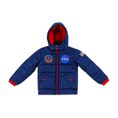 Private Collection Outerwear - Boys Heavyweight Puffer Jacket-Big Kid