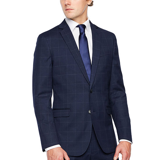 56dc526264b JF J.Ferrar Windowpane Classic Fit Stretch Suit Jacket - JCPenney