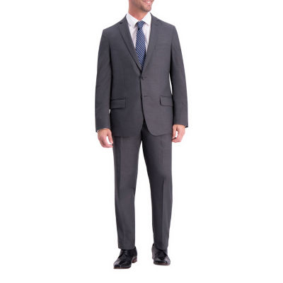 Haggar Jm Texture Weave Slim Fit Suit Sep Coat Jacquard Stretch Jacket