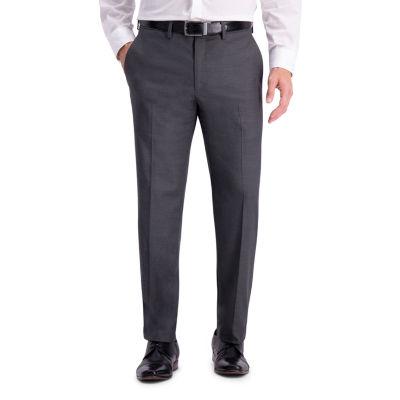 Haggar Jm Haggar Texture Weave Slim Fit Suit Sep Pant Jacquard Slim Fit Stretch Suit Pants