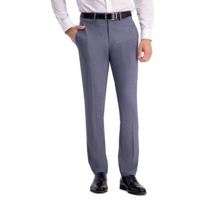 Haggar Jm Haggar Subtle Plaid Slim Fit Suit Separate Pant Plaid Slim Fit Stretch Suit Pants