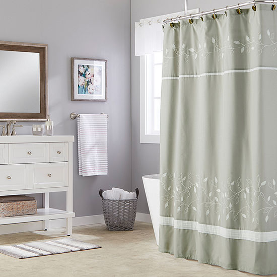 Saturday Knight Neutral Nuances Kent Shower Curtain