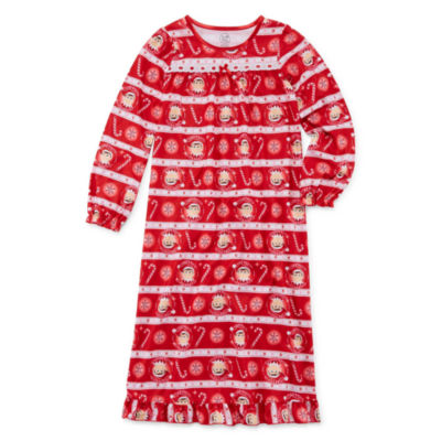 Elf on the Shelf Long Sleeve Nightgown - Girls