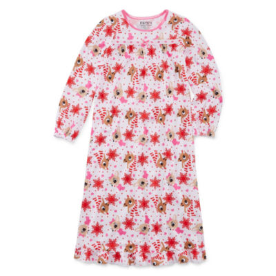Rudolph The Red Nose Reindeer Nightgown - Girls