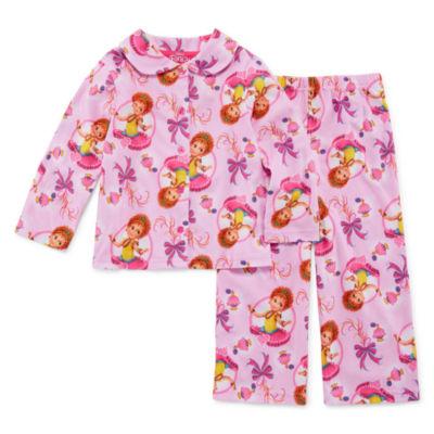 Fancy Nancy 2pc Pant Pajama Set - Girls