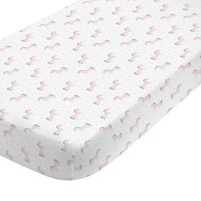 Nojo Unicorn Crib Sheet Crib Sheet
