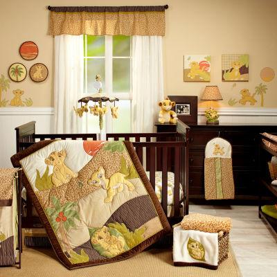 Disney Lion King 7-Pc. Crib Set 7 Pair Crib Bedding Set
