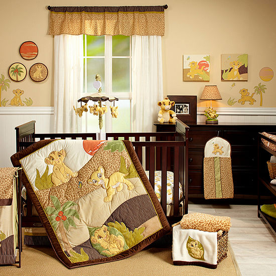 Disney Lion King 7-Pc. Crib Set Crib Bedding Set