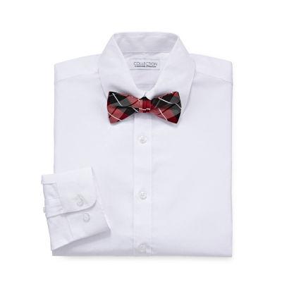 Collection By Michael Strahan Long Sleeve Woven Dress Shirt Boys 8-20 Regular & Husky