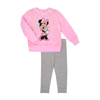 Disney 2-pc. Minnie Mouse Legging Set-Toddler Girls