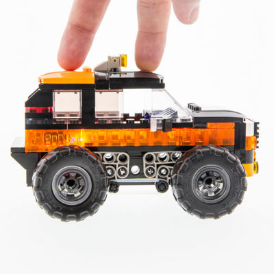 Laser Pegs Monster Rally Wrecker Offroad Truck 250 Piece Construction Block Set