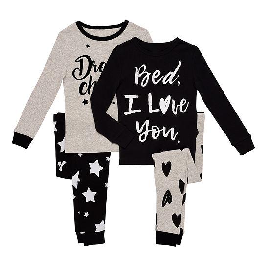 4-pc. Pant Pajama Set Preschool Girls - JCPenney 27f2a4d79
