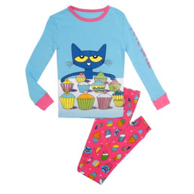 Pete The Cat 2pc.Pant Pajama Set - Toddler Girls