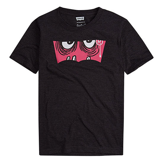 Levi's Boys Round Neck Short Sleeve Graphic T-Shirt - Preschool