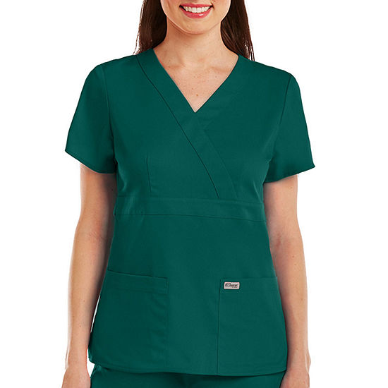 Barco® Grey's Anatomy™ 4153 3-Pocket Mock Wrap Top