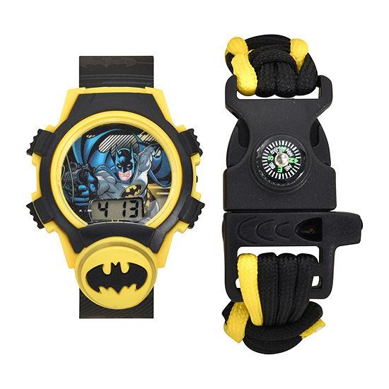 Boys Digital Black Watch Boxed Set-Bat40066jc