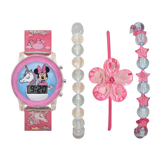 Girls Digital Multicolor Watch Boxed Set-Mn40040jc