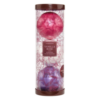 Tri-Coastal Design Burgundy Floral 3-pc. Bath Bombs