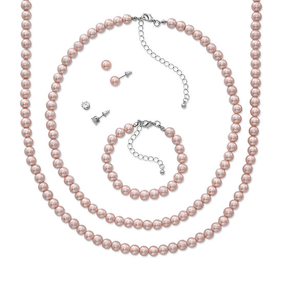 Mixit 5-pc. Simulated Pearl Jewelry Set