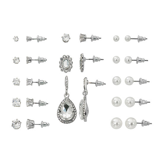 Mixit Simulated Pearl Jewelry Set