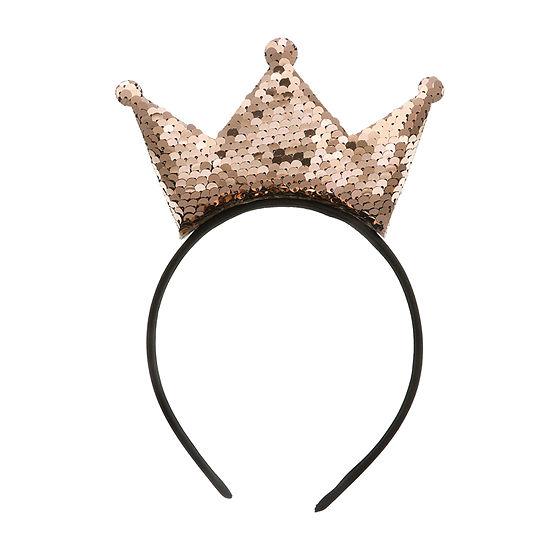 Oh Hello Sequin Crown Headband