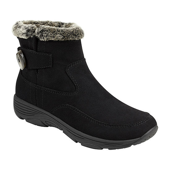Easy Spirit Womens Vann2-J Water Resistant Flat Heel Winter Boots