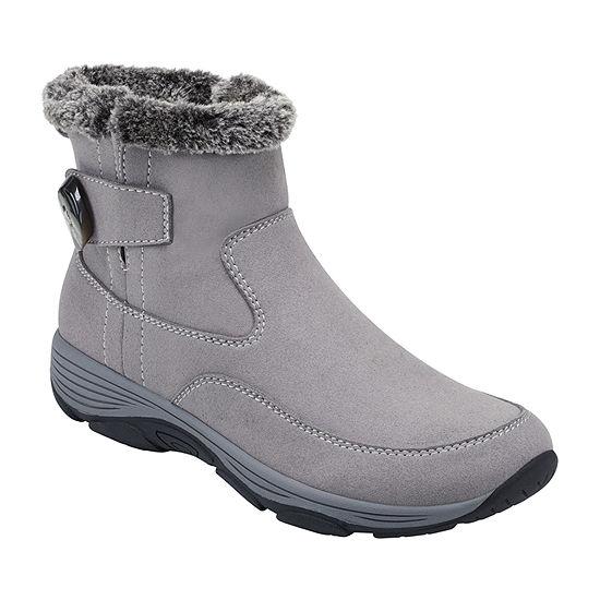 Easy Spirit Womens Vann2-J Water Resistant Winter Boots Flat Heel