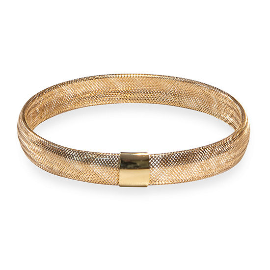 Made in Italy 10K Gold Stretch Bracelet