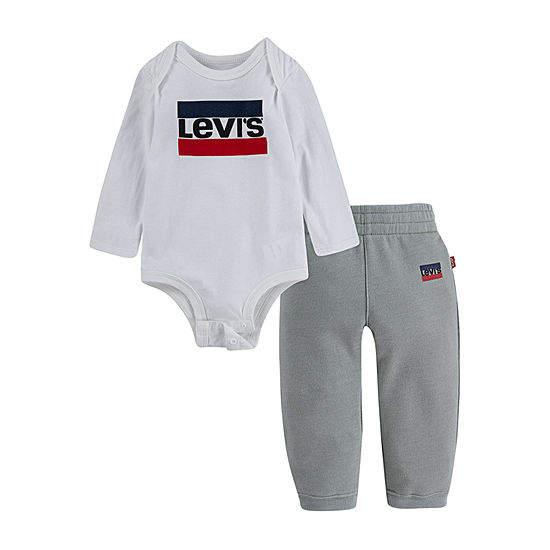 Levi's Boys 2-pc. Logo Pant Set Baby