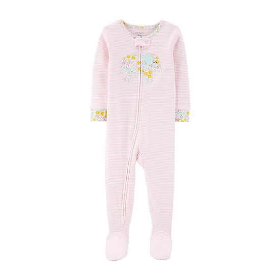 Carter's Baby Girls Long Sleeve One Piece Pajama