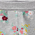Carter's Girls Straight Jogger Pant - Baby