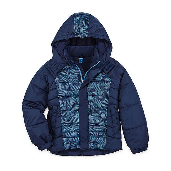 Arizona Boys Husky Heavyweight Puffer Jacket