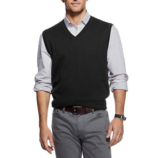 Van Heusen Flex V Neck Sleeveless Pullover Sweater
