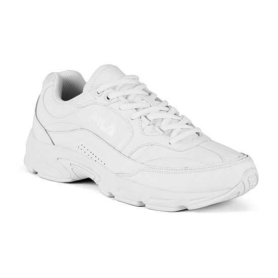 Fila® Memory Workshift Mens Slip-Resistant Work Shoes