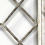 Stratton Home Decor Window Panel Wall Sculpture
