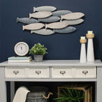 Stratton Home Decor School Of Fish Beach + Nautical Metal Wall Art