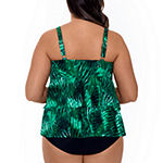 Trimshaper Control Tankini Swimsuit Top or Swimsuit Bottom-Plus