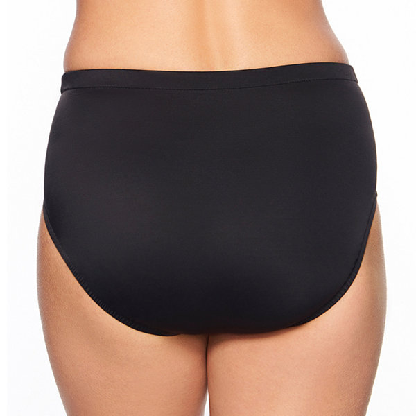 Vanishing Act By Magic Brands Slimming Control High Waist Swimsuit Bottom