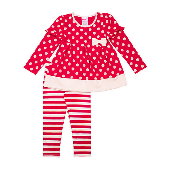 Nannette Baby Girls 2-pc. Legging Set-Toddler
