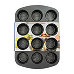 Taste of Home 12-cup Non-Stick Metal Muffin Pan