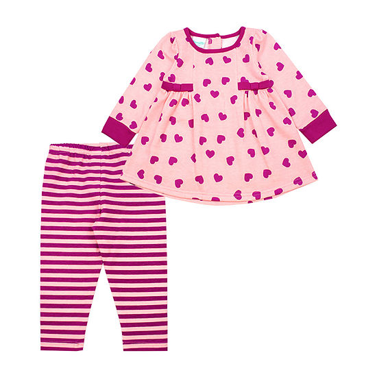 Nanette Baby Girls 2-pc. Legging Set-Toddler